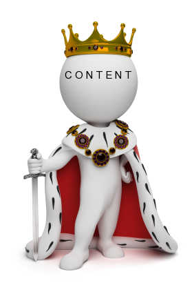 3d small people the king with a sword. 3d image. Isolated white background.