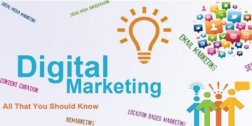 Role of social media in digital marketing