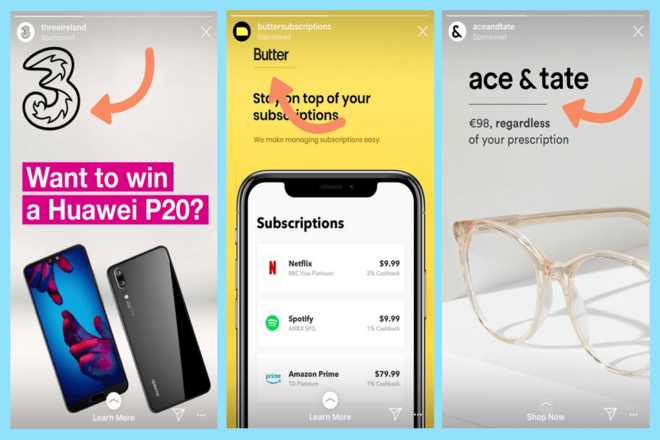 Create Your Ad Creative Instagram Stories Ads