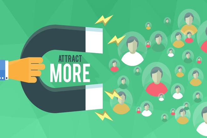 Increase In Traffic social media for business