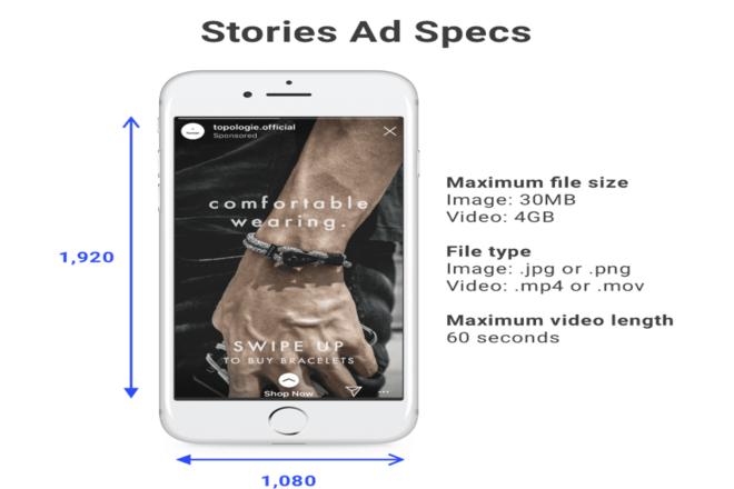Instagram Stories Ads Specs